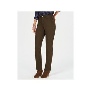 Style & Co Straight Leg High Rise Pant. 6S